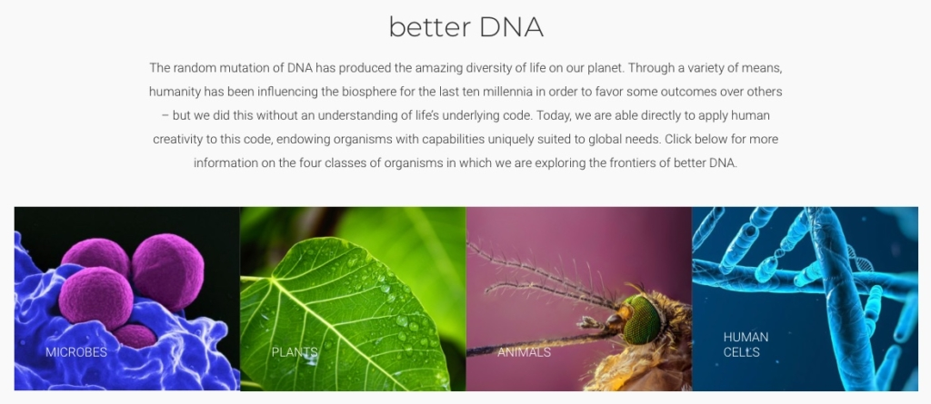 Intrexon DNA Applications