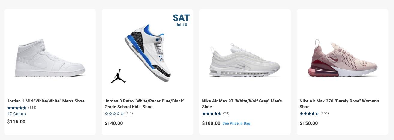 HIbbett Sports Sneakers