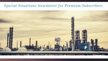 Special Situations Newsletter: October 2021